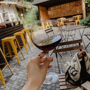 Krásna vináreň v Nessebare