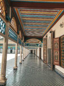 Palais Bahia - vnútri