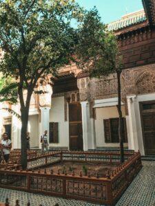 Palais Bahia - záhrada