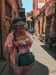 lleba-mama v ulicicach Marrakecha