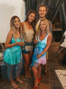 So zakladateľkou Paintpeople Juliou Vulchovou (druhá zľava) a hlavným maliarom Paintpeople Dávidom Plachým