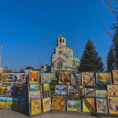 Chrám Alexander Nevsky v Sofii