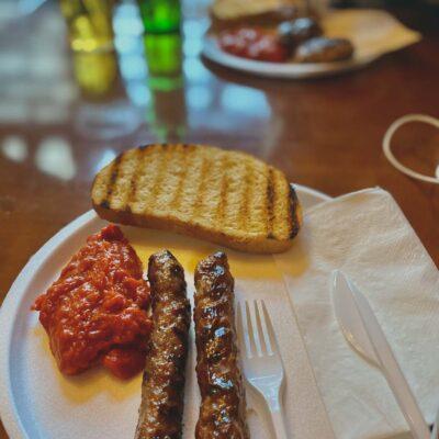 Diétka v Bansku a.k.a tradičné jedlo z grilu