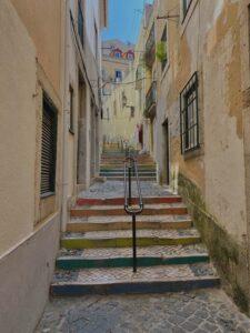 Uličky v Lisabone