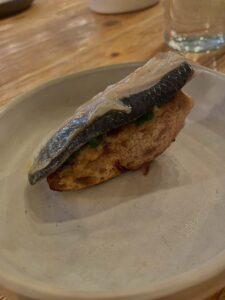 (nie príliš fotogenická) sardinka