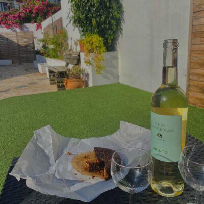 Bolo de Mel a portugalské víno