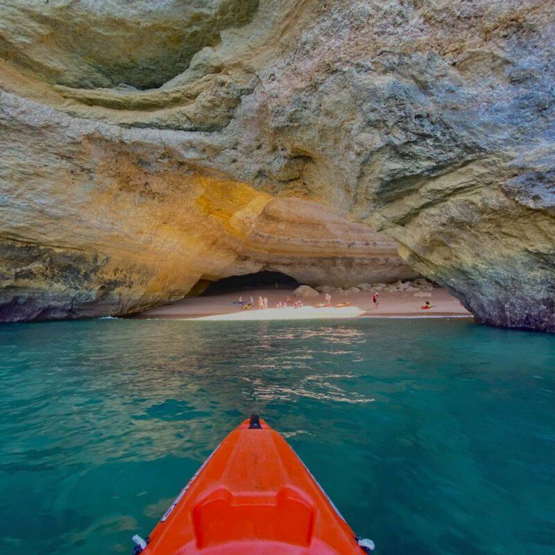 Vstup do Benagil Cave