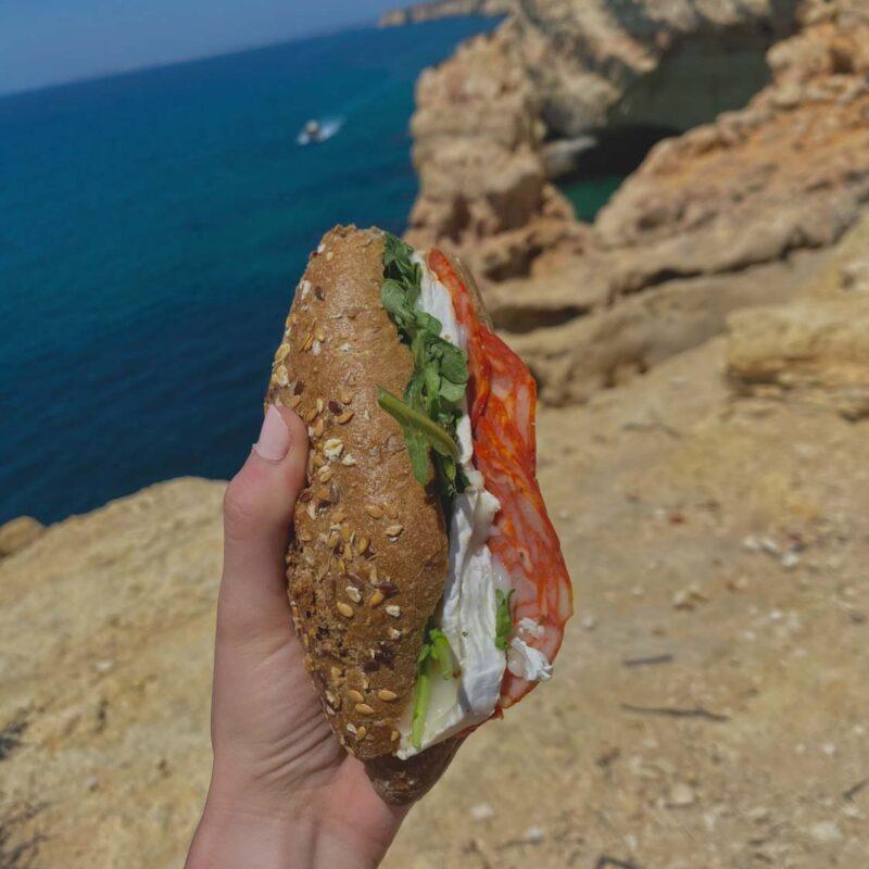Snack on the go - počas návštevy Algar Seco