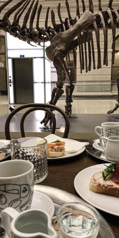 Raňajky v Národním muzeu