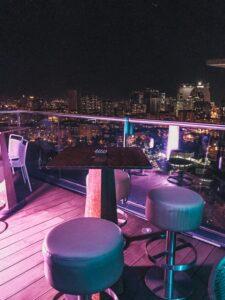 Batumi - terasa Hiltonu