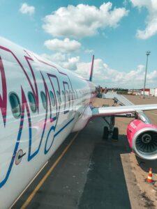 Lietadlo WizzAir, ktorá lieta do Gruzínska