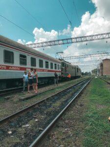 Frekventovanejšia železničná trať trasa Tbilisi - Kutaisi