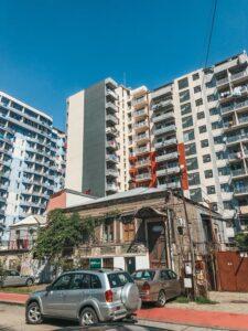 Batumi - kontrast