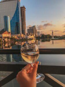 Víno v Batumi